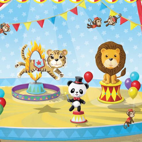 Circus Mural