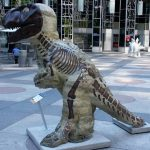 Dinomite Public Art Project sponsored by the Carnegie Museum of Art in Pittsburgh
